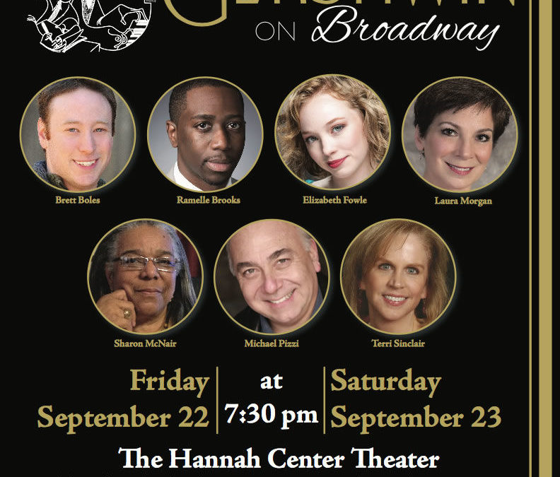 Sandhills Broadway Series – Gershwin on Broadway | Laura in Concert