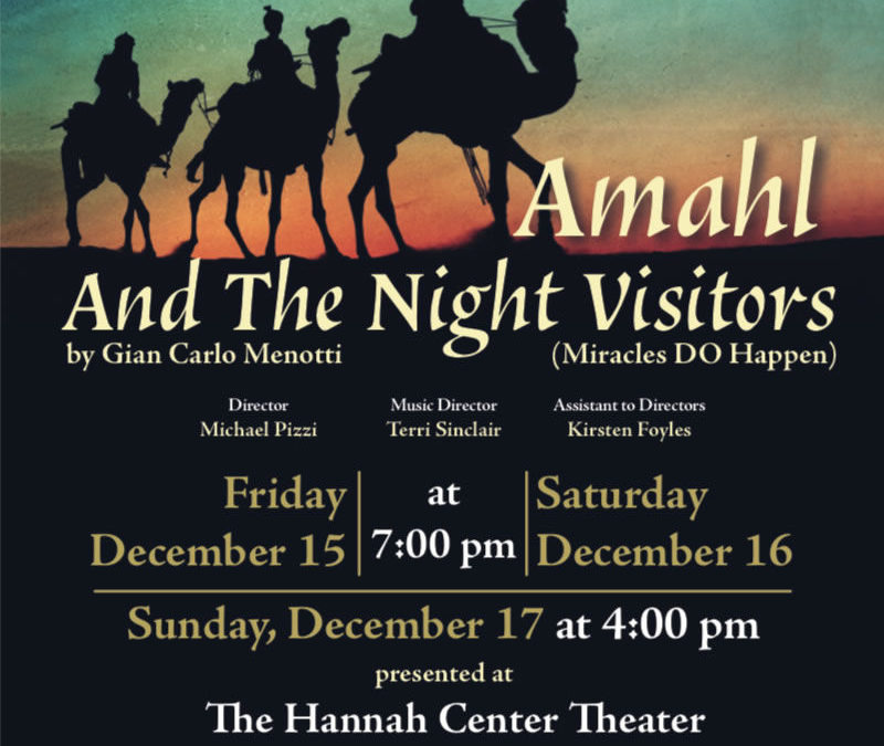 Amahl & The Night Visitors | Laura Morgan Events